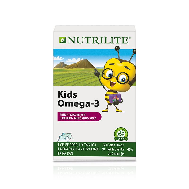 Kids Omega-3 NUTRILITE™ - 45 g, 2 Packungen mit je 15 Kautabletten (30 Kautabletten) - Amway