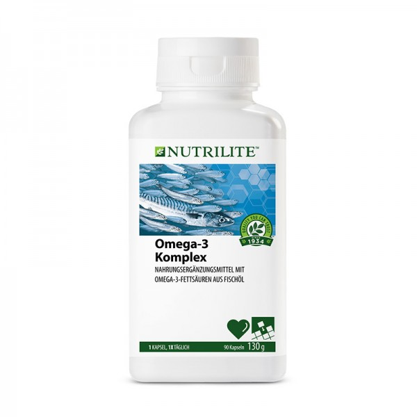 Omega-3 Komplex NUTRILITE™ - 90 Kapseln / 130 g - Amway