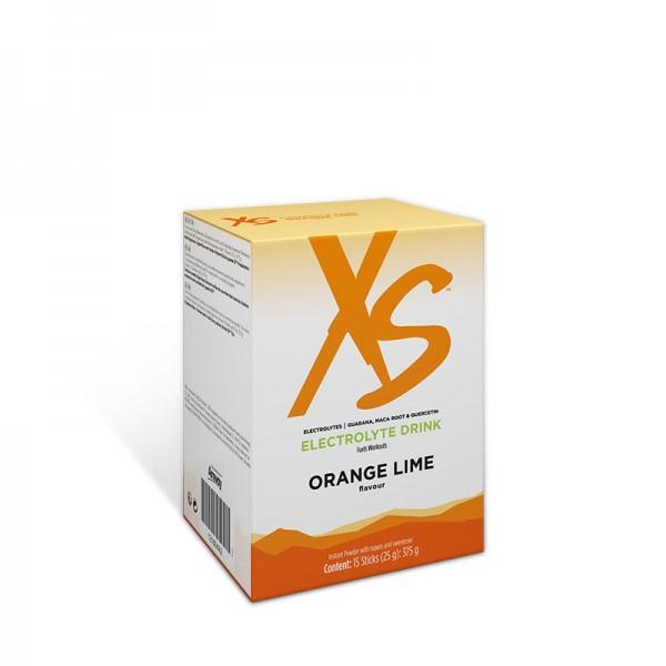 Elektrolyt Drink mit Orangen-Limettengeschmack XS™ - 1 Packung m. 15 Beutel à 25 g / 375 g - Amway