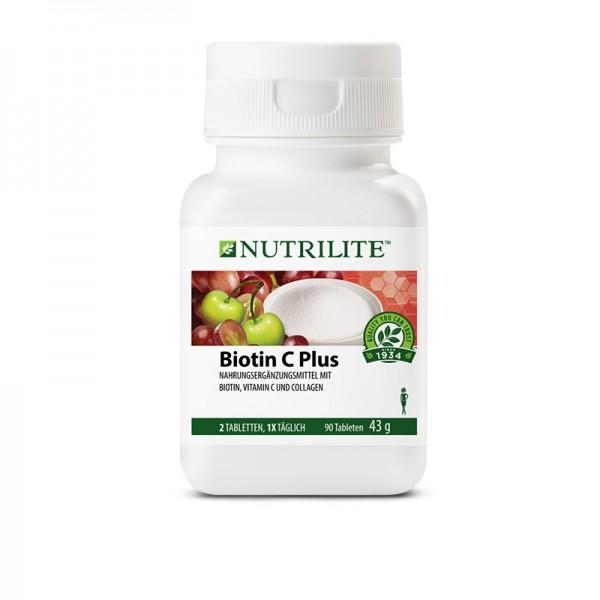 Biotin Vitamin C Plus NUTRILITE™ - 90 Tabletten / 43 g - Amway