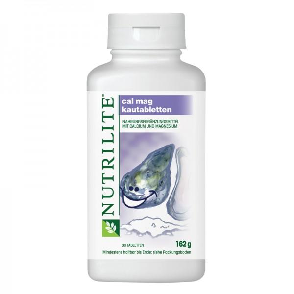 Cal Mag Kautabletten NUTRILITE™ - 80 Kautabletten / 162 g - Amway