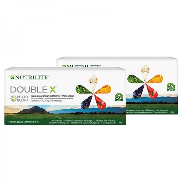 Multivitamin / Multimineralstoff / Pflanzennährstoff DOUBLE X™ NUTRILITE™ Nachfüllpack