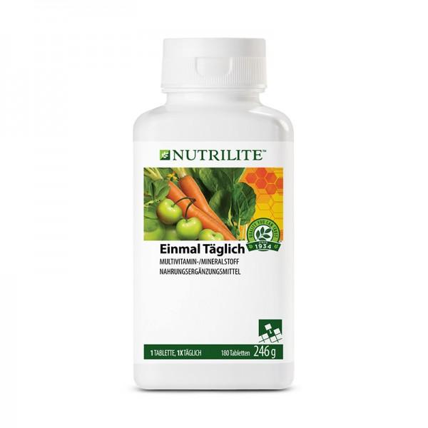 Einmal Täglich Großpackung NUTRILITE™ - 180 Tabletten / 246 g - Amway