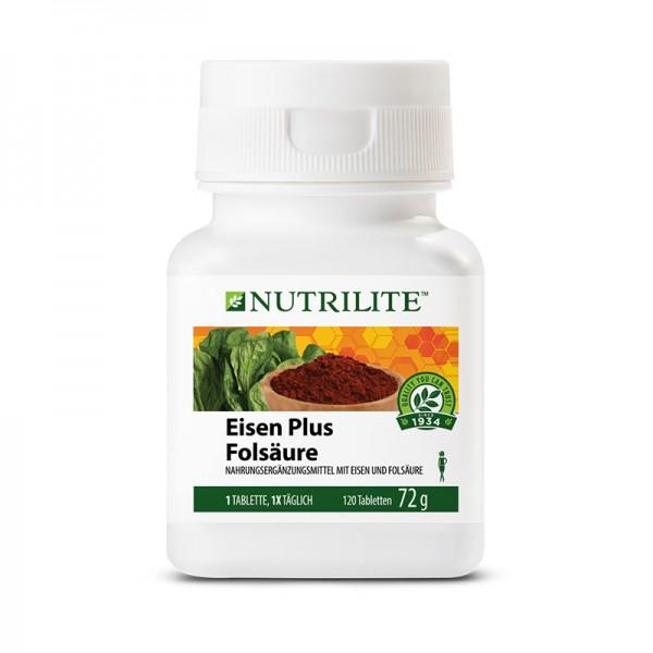 Eisen Plus Folsäure NUTRILITE™ - 120 Tabletten / 72 g - Amway