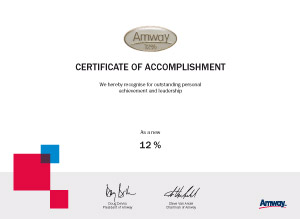 Amway_Certificates_12