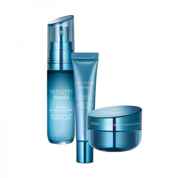 Power System für trockene Haut ARTISTRY HYDRA-V™ - Set mit 3 Produkten - Amway