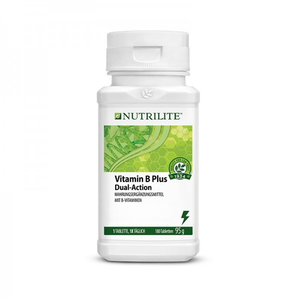 NUTRILITE™ Vitamin B Plus Großpackung - 180 Tabletten / 95 g - Amway