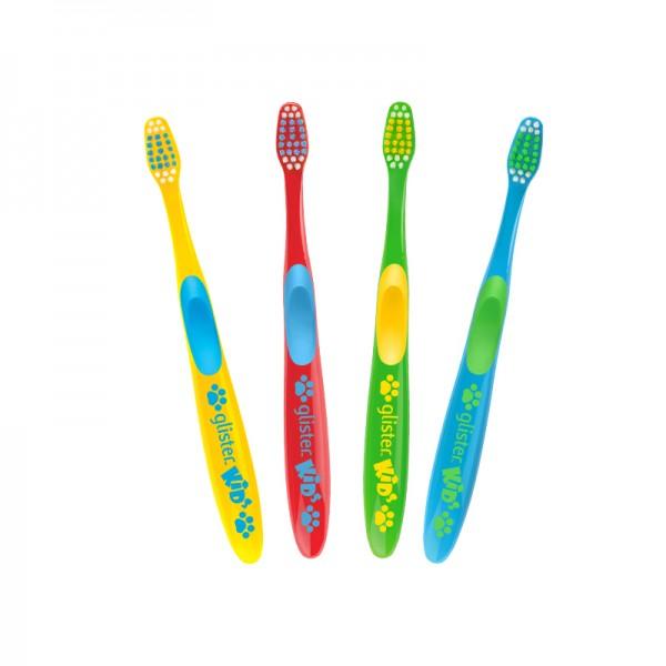 GLISTER™ Kids Mundpflege Zahnbürsten - 4 Stück - Amway