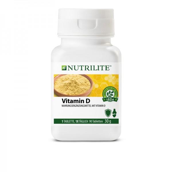 Vitamin D NUTRILITE™ - 90 Tabletten / 30 g - Amway