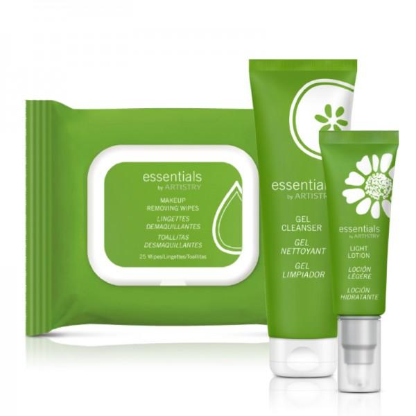 essentials by ARTISTRY™ Set für Mischhaut bis ölige Haut - Set mit 3 Produkten - Amway