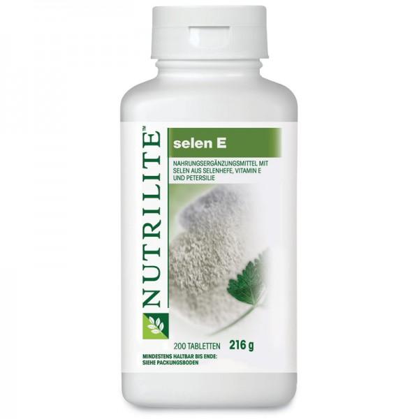Selen E Großpackung NUTRILITE™ - 200 Tabletten / 216 g - Amway