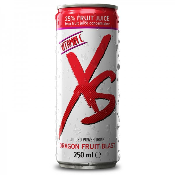 Juiced Power Drink Dragon Fruit Blast XS™ - 1 Dose / 1 x 250 ml - Amway