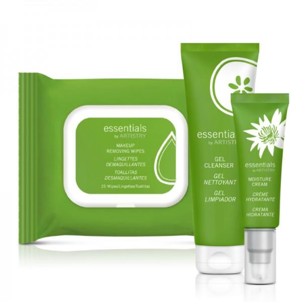 essentials by ARTISTRY™ Set für normale bis trockene Haut - Set mit 3 Produkten - Amway