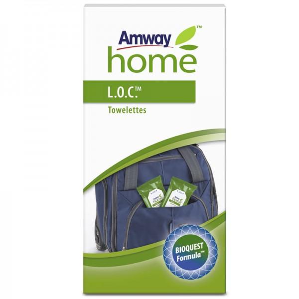 Mini-Wischtücher L.O.C.™- 4 Packungen à 24 Wischtücher - Amway