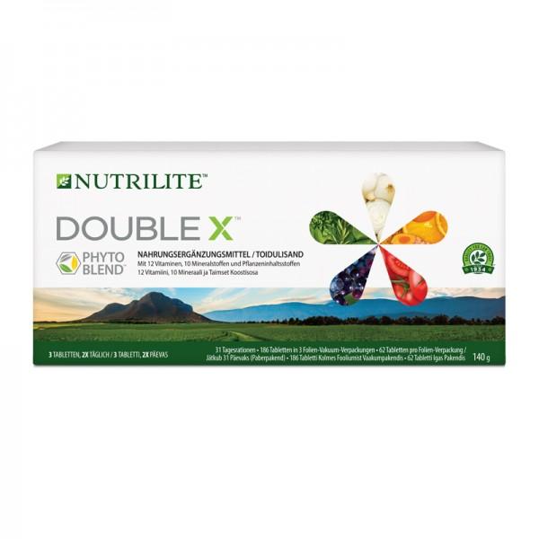 Multivitamin / Multimineralstoff / Pflanzennährstoff DOUBLE X™ NUTRILITE™ Box