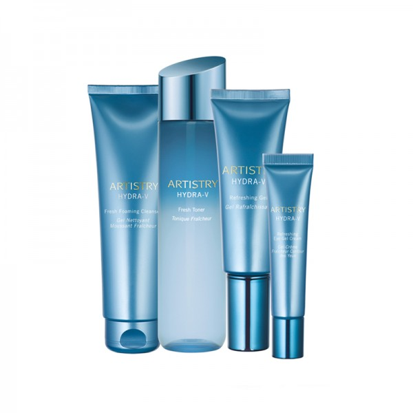 Hautpflegelösung für ölige/Mischhaut ARTISTRY HYDRA-V™ - Set mit 4 Produkten - Amway