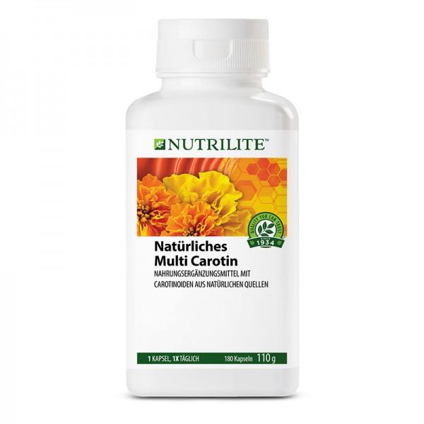 Natürliches Multi Carotin NUTRILITE™ - 180 Kapseln / 110 g - Amway