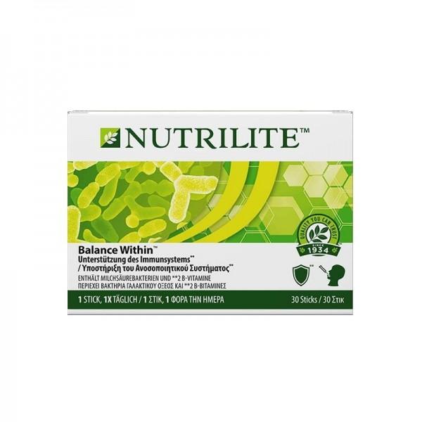 Nutrilite™ Balance Within™ - 30 Sticks - Zwei Stämme Milchsäure produzierenden Bakterien - Amway