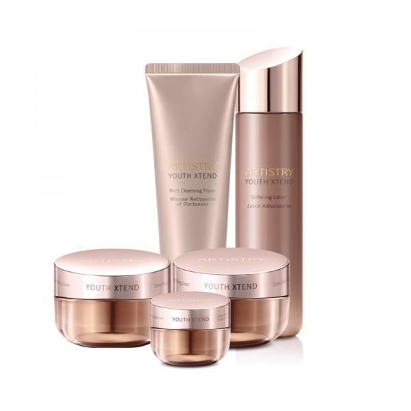 Hautpflegelösung für normale bis trockene Haut ARTISTRY YOUTH XTEND™ - Set mit 5 Produkten - Amway