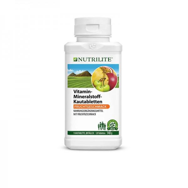 Vitamin-Mineralstoff-Kautabletten NUTRILITE™ - 120 Kautabletten / 148 g - Amway