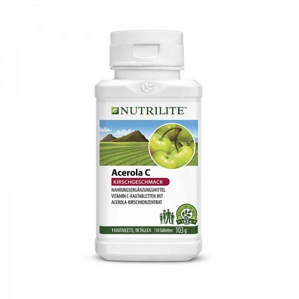 Acerola Vitamin C Kautabletten NUTRILITE™ - 110 Kautabletten / 103 g - Amway