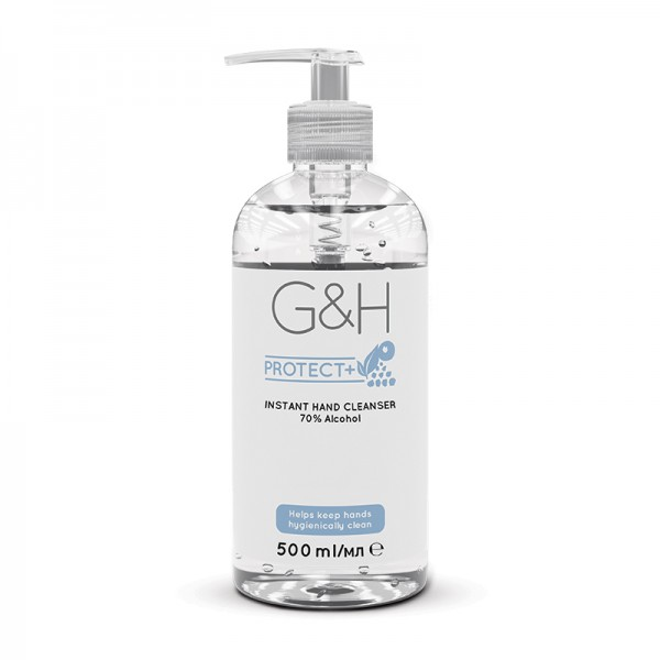 Handreiniger Gel - 70% Alkohol - Instant Hand Cleanser G&H PROTECT+™ - 500 ml - Amway