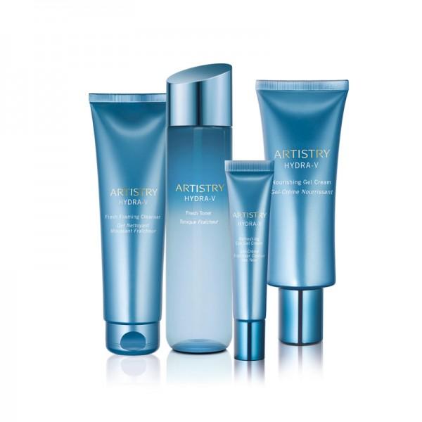 Hautpflegelösung für alle Hauttypen ARTISTRY HYDRA-V™ - Set mit 4 Produkten - Amway