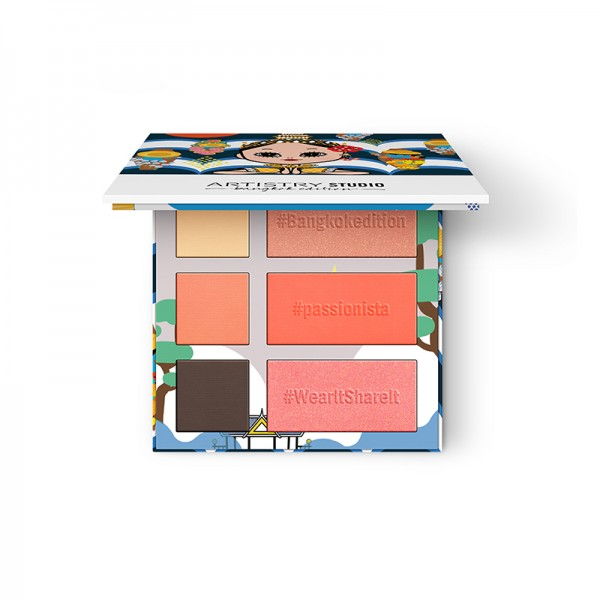 On-The-Go Palette ARTISTRY STUDIO™ Bangkok Edition - 3 x 2,4 g / 3 x 4,5 g - Amway