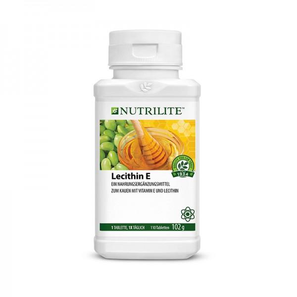 Lecithin Vitamin E Kautabletten NUTRILITE™ - 110 Kautabletten / 102 g - Amway